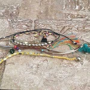 Lot of unique bracelets